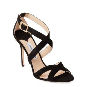 b308325ab68e Jimmy Choo Nude Laguna Suede Pumps · Jimmy ChooBlack Lottie Crisscross  Suede Sandals