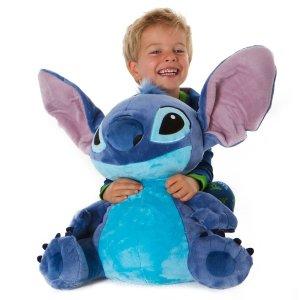 Disney买1件第2件$5Stitch 大型玩偶