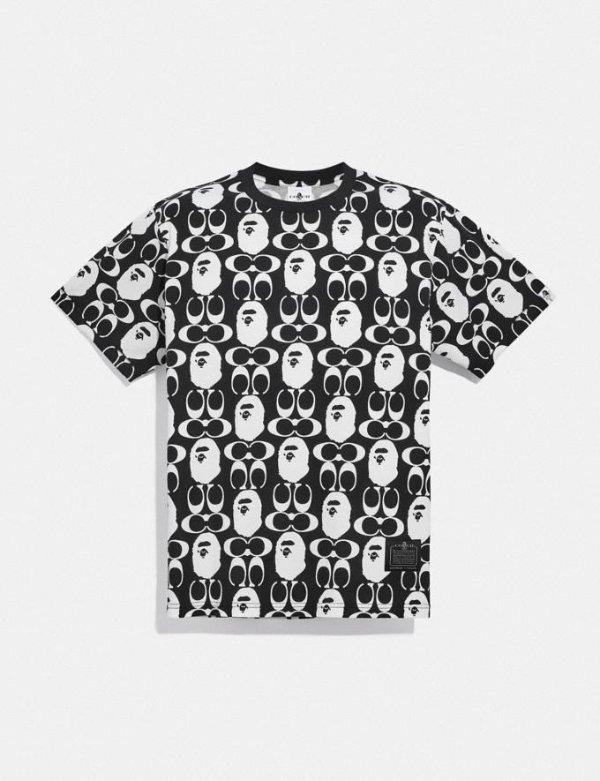 Bape X Coach T恤