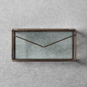 $11.05Hearth & Hand 信封造型玻璃首饰收纳盒
