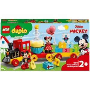 Lego迪士尼 - 米奇米妮生日火车 (10941)