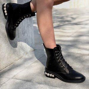 低至4折Nicholas Kirkwood 美鞋热卖 珍珠高跟鞋$278