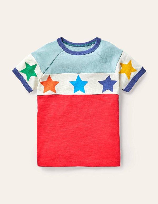儿童星星T恤