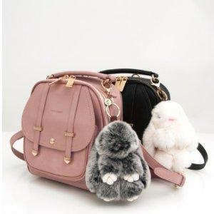 6.5折 + 满额送价值$70钱包Belle & Bloom 全场美包、配饰热卖 低价收爆款装死兔