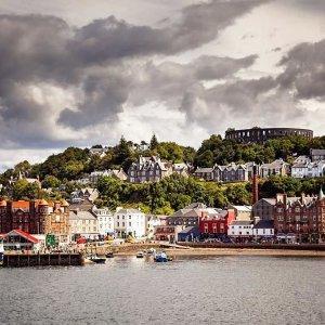 低至38折 探索苏格兰精美小镇奥本港口酒店双人房 £79包含三道菜晚餐+饮料
