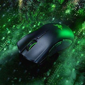 $74.99(原价$119.98)Razer Mamba 曼巴蛇 无线游戏鼠标