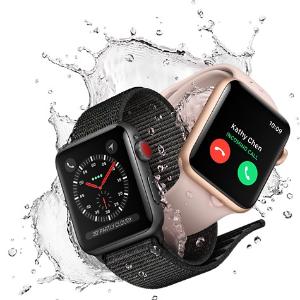 低至$329 + 礼卡Apple Watch Series 3 38mm / 42mm 智能手表