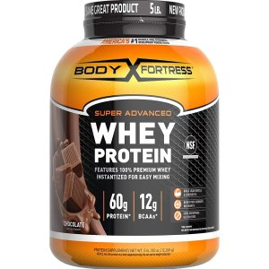 Amazon Body Fortress Super Advanced Whey Protein Powder