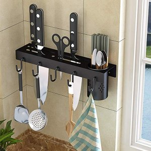 Amazon.com: Knife Storage Rack, Adbiu Kitchen Knife Holder Stainless Steel Wall Mounted Kitchen Knives Holder: Kitchen & Dining