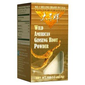 Prince of Peace Wild American Ginseng Powder, 1.5oz
