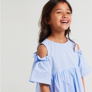 多款美衣等你来挑半年一度:Zara 美国官网 时尚童装年中大促