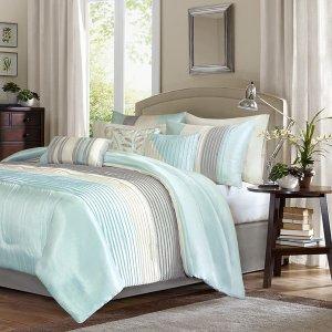 额外7.5折 收超美床品套装Designer Living 精选高端Madison Park 家居品促销