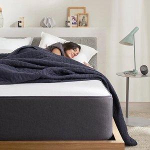 全场9折+免邮 床品5折$18起Casper 高支撑度床垫热卖 5层奢华不腰疼 免费试睡100天