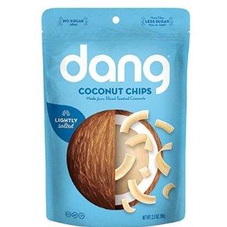 现价$3.02 健康又美味Dang Gluten Free 超好吃椰子脆片 90克