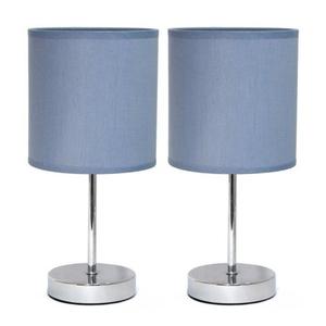 $13.43 (原价$21.42)Simple Designs 简约迷你小台灯 2件套 多色可选