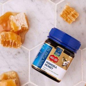 低至8.5折 天然蜂蜜£4.99/瓶Manuka Health 蜂蜜精选 送礼养生好选择