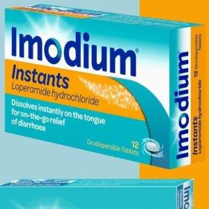 仅€7.67收12片装(原价€12.36)Imodium 速效止泻片 缓解急性腹泻及恶心感 居家旅行必备