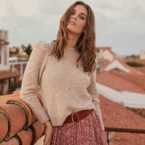 3折起+额外6折 阔腿裤$18折扣升级:Ever New 折扣区精致女装 $42收封面同款羊毛毛衣