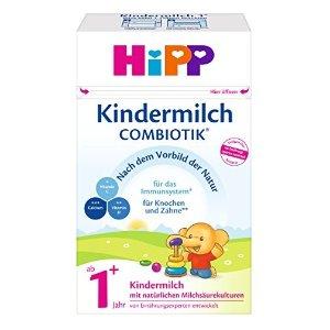 4盒装秒杀¥345HIPP Combiotik 婴幼儿益生菌奶粉 1岁以上 600g