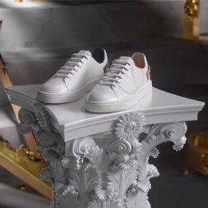 4折起+额外8.5折Valentino 年中特卖 $429收百搭小白鞋