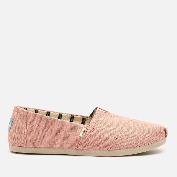 粉色休闲鞋