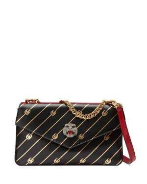 Gucci Gucci Thiara Medium Leather Double Shoulder Bag | Neiman Marcus