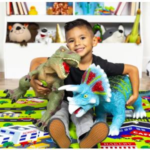 $34.99+包邮超大仿真可发声恐龙玩偶优惠,2款可选