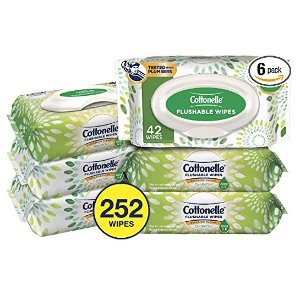 Cottonelle 清洁湿巾 252张