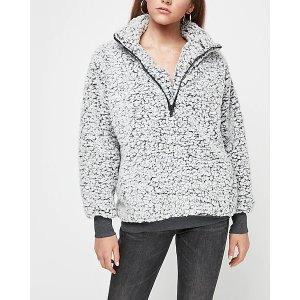 ExpressSherpa Quarter Zip Sweatshirt