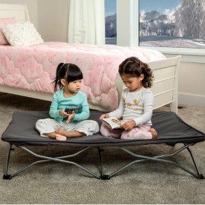 $25 带绒毛床罩 小憩佳品近期好价:Regalo My Cot 便携式儿童睡床、露营床