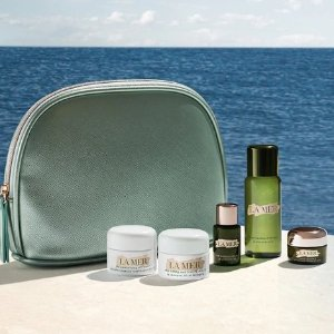 满额送5件套+眼霜中样即将截止:La Mer 经典回购护肤 唇部精华套装、修护套装补货!