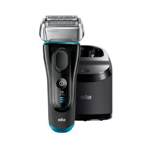BraunSeries 5 5190cc ($30 in Rebates Available) Men's Electric Foil Shaver with Clean & Charge System, Wet and Dry, Pop Up Precision Trimmer, Rechargeable and Cordless Razor