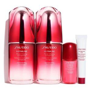 Shiseido价值 $246红腰子精华套装