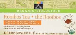 $4.74 独一无二的Rooibos Tea365 Everyday Value有机如意茶40小包 Whole Foods自有品牌