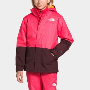 低至2.5折 手慢无The North Face 儿童保暖外套 正反两穿款相当于买两件
