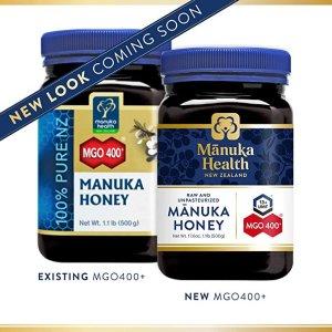 manuka healthMGO 400+ Manuka 蜂蜜500 g