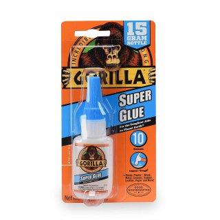 $2.99(原价$14.99)Gorilla 大猩猩超级万能胶无色 15g