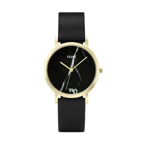 CLUSE 黑色大理石手表