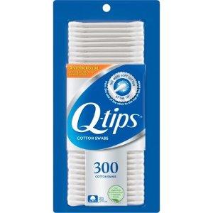 $2.47白菜价:Q-tips 双头棉花棒 300支 x 2盒
