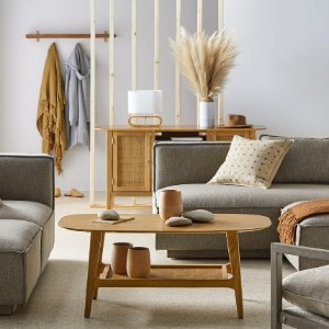 As low as $32Modrn Natural Boho Living Room Furniture on Sale