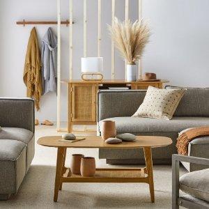 上新:Modrn 自然木纹波西米亚风客厅家具热卖 新风格上线