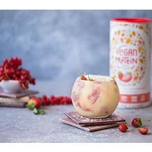 草莓味植物蛋白粉