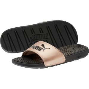 PumaCool Cat Metallic Women's Slides