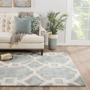 Andersoncontemporary Trellis rectangle Area Rug