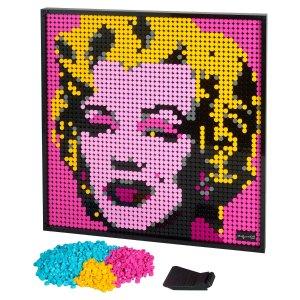 Lego四种效果梦露 31197 | 艺术生活系列