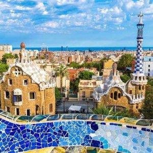 74折 欧洲魔都屋顶泳池尽情开趴2-3晚巴萨罗那深度游 人均£99起