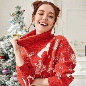 £14就收!可可爱爱圣诞节H&M 圣诞毛衣上架 在英国过圣诞怎能错过 好看白菜价
