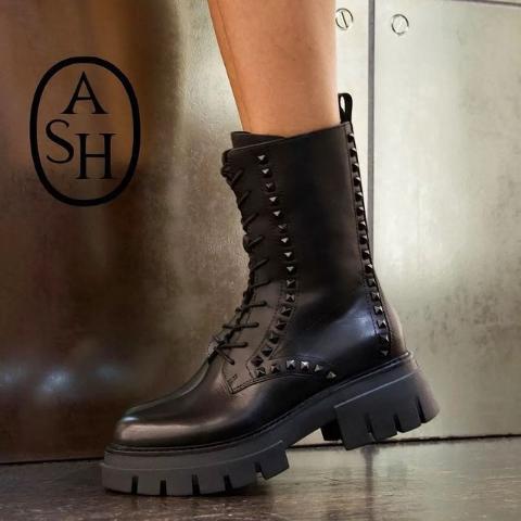 最高满减£80 变相6.6折The Hut 好鞋上新 骑士靴、甜酷马丁靴、经典帆布鞋大集合