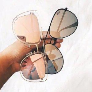 8折 特价也参加限今天:Quay Australia 全场男女墨镜特卖 Ins近期最火的墨镜品牌