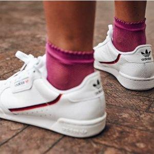 低至5折 $60起adidas Continetal80 经典小白鞋 收海狸、大幂幂同款